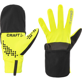 Craft Hybrid Weather Guantes largos, flumino/black